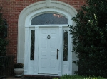 Front Door Transom and Side Lites