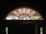 Beveled Glass Transom Interior