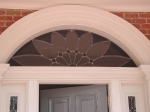 Beveled Glass Transom