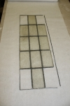 Antique Leaded Glass Panel Repair