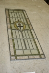 Completed Antique Leaded Glass Repair