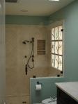 Shower Wall Installation